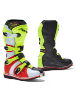 Black/ Red/ Fluo Yellow