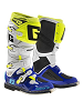 Buty Gaerne SG-12 WHITE/BLUE/YELLOW FLUO